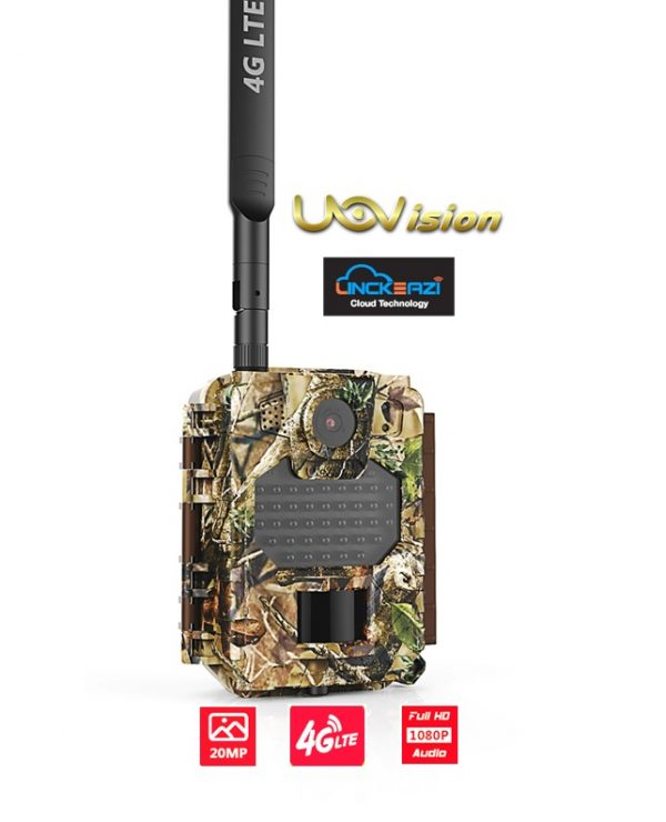 Uovision Compact LTE 4G 20MP Full HD